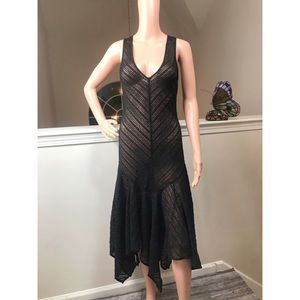 Intimately Free People, black lace night gown